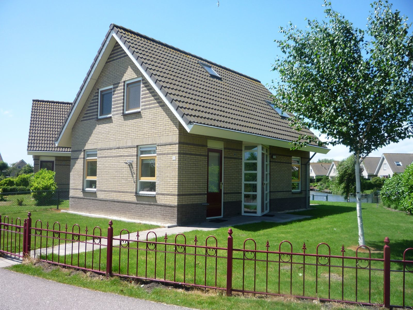 Standaard bungalow max. 6 pers.