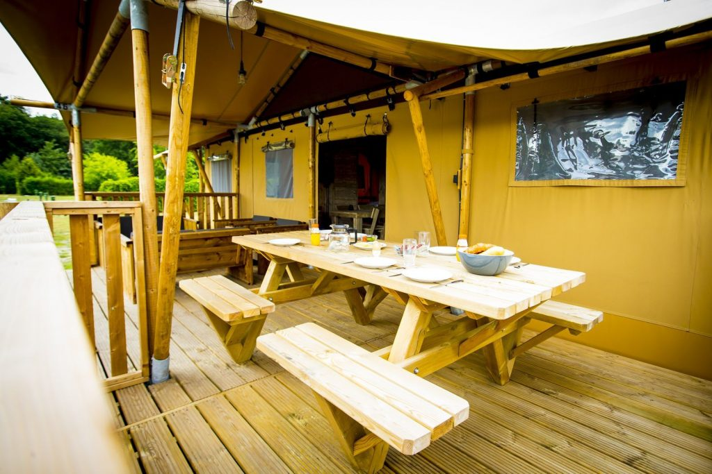 Glamping Lodge 7 pers..