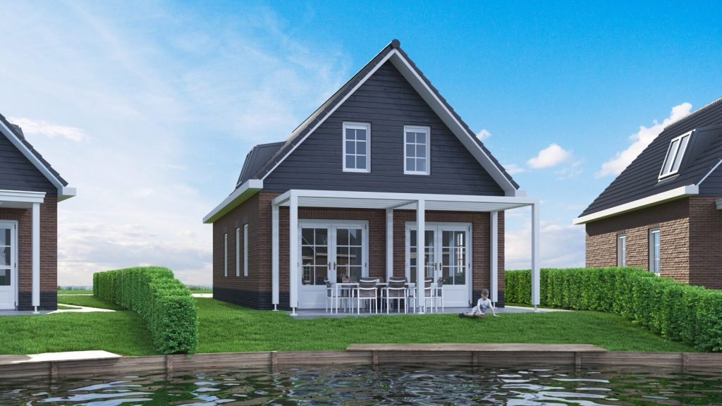 Watervilla Luxe 6-persoons
