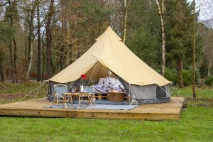 Glampingtent Koolmees (355.00 EUR)